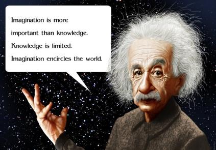 Inspirational Einstein Quote