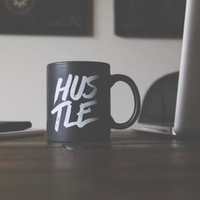 Black Hustle Coffee Mug